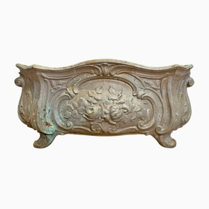 Mid-Century French Cast Iron Garden Planter
