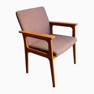 Dänischer Armlehnstuhl aus Eiche, 1970er