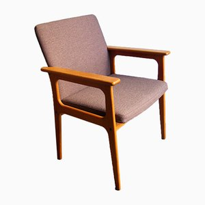 Danish Oak Armchair, 1970s