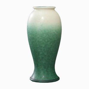 Jarrón esmaltado de Ruskin Pottery, años 20