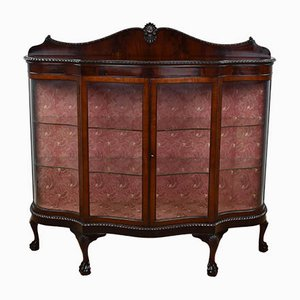 Edwardian Mahogany Display Cabinet, 1901
