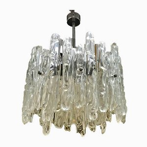 Chrome Chandelier by J. T. Kalmar, 1960s