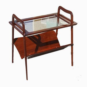 Walnut Bar Trolley by Ico Parisi, 1953
