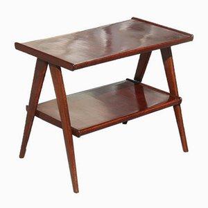 Table Basse Géométrique en Acajou, 1950s