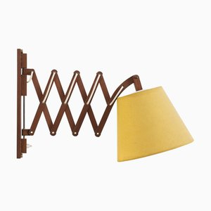 Scissor Wall Light from ARO Leuchten, 1960s