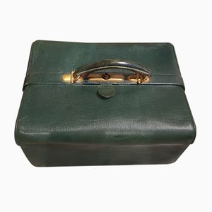 Antique Leather Beauty Case