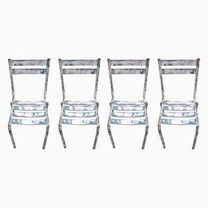 T2 Dining Chairs by Tolix, 1940s, Set of 4