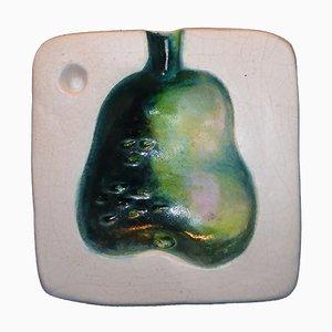 Vassoio in ceramica di Georges Jouve, anni '50