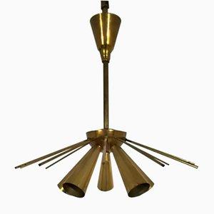 Französische Mid-Century Deckenlampe