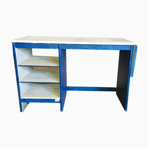 Schreibtisch aus Holz, 1970er