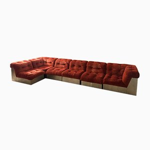 Canasta Sofas by Giorgio Montani for Souplina, Set of 6