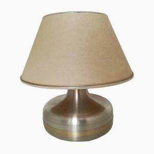 Lampada da tavolo Mid-Century in metallo e ottone