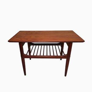 Table Basse en Teck par Ib Kofod Larsen pour G-Plan, 1970s