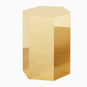 Mesa auxiliar hexagonal de Arielle Lichten