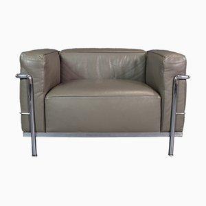 LC3 Sessel von Le Corbusier für Cassina, 1990er