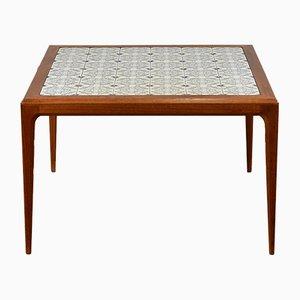 Table Basse en Teck par Johannes Andersen pour CFC Silkeborg, Danemark, 1960s