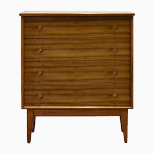 Walnut Dresser by Alfred Cox, 1950s