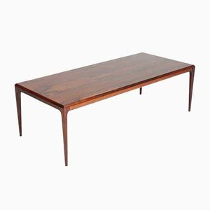 Danish Rosewood Coffee Table by Johannes Andersen for CFC Silkeborg, 1960s
