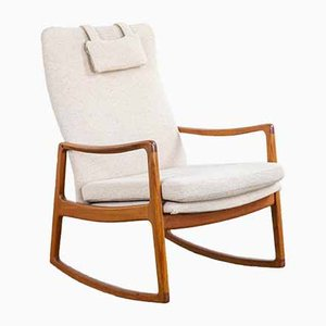 Rocking Chair by Ole Wanscher for France & Søn / France & Daverkosen, 1960s