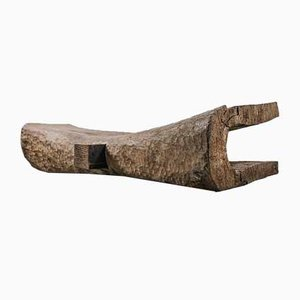 Oakwood Sculpted Bench by Denis Milovanov