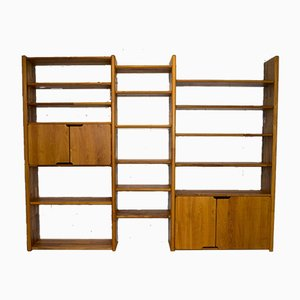 Libreria modulare della serie Go di Pierre Chapo per Seltz, anni '80
