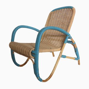 Rattan Children's Chair, 1930s