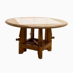 Table Basse Ajustable par Guillerme et Chambron pour Votre Maison, 1960s