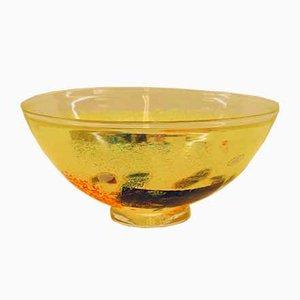 Satellite Bowl by Bertil Vallien for Kosta Boda, 1990s
