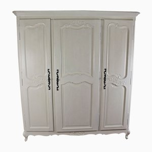 Antique Louis XV Style Oak Wardrobe, 1910s