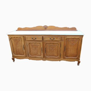 Antique French Oak Sideboard, 1910s
