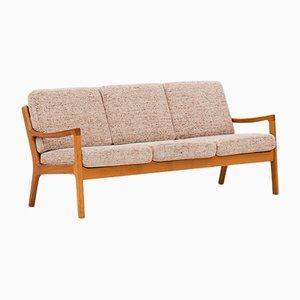 Sofá de tres plazas de Ole Wanscher para Cado, años 60