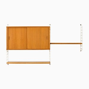 Wall Unit by Kajsa & Nils Nisse Strinning for String, 1950s