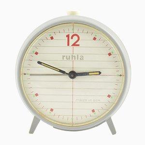 Reloj despertador mecánico de Ruhla, años 70