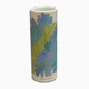 Vaso in porcellana di Rosamunde Nairac per Rosenthal Studio Line, anni '80