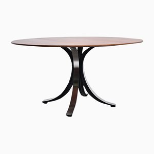 T69 Rosewood Dining Table by Osvaldo Borsani for Tecno, 1970s