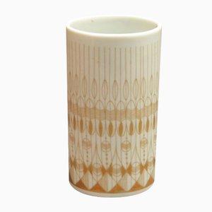 Jarrón de porcelana de Theo Baumann para Rosenthal Studio Line, años 60