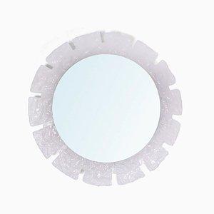 Specchio con luce di Ernest Igl per Hillebrand Lighting, anni '70