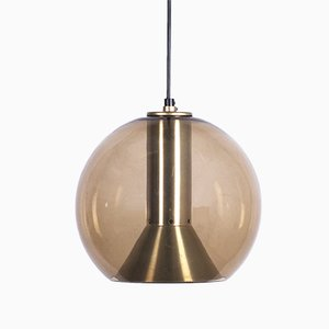 Glass Globe Series Pendant Lamp by Franck Ligtelijn for Raak, 1960s