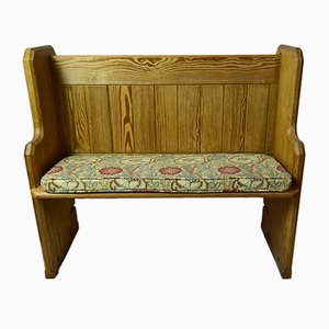 Antique Victorian Church Pew