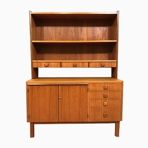 Mid-Century Wall Highboard Cabinet