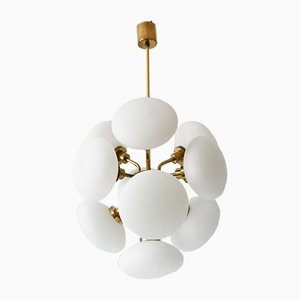 Sputnik Multi-Globe Pendant Lamp from Kaiser Leuchten, 1970s