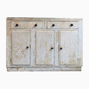 Mueble bufet antiguo pintado