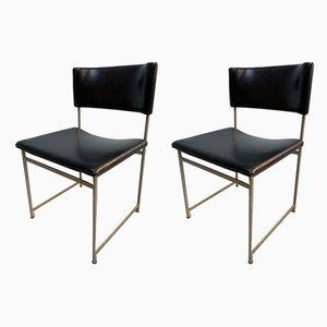 Chaises de Salle à Manger en Palissandre par Cees Braakman pour Pastoe, 1960s, Set de 2