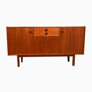 Hohes Mid-Century Sideboard