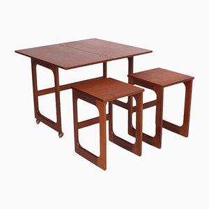 Tables Gigognes Pliantes de McIntosh, 1960s