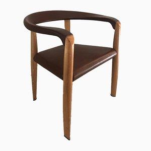 Vintage Armlehnstuhl von Tobia & Afra Scarpa für Molteni