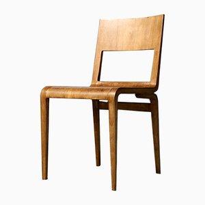 Chaise d'Appoint 5064 par Erich Menzel pour VEB Deutsche Werkstätten Hellerau, Allemagne, 1950s