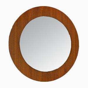 Runder Vintage Spiegel, 1960er