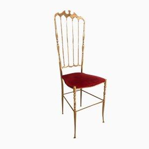 Mid-Century Dining Chair from Chiavari