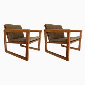 Dänische Armlehnstühle von Birking & Co, 1960er, 2er Set